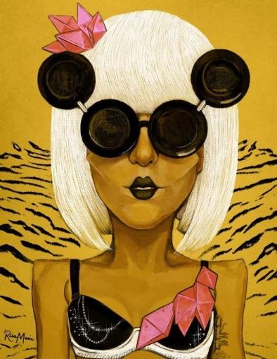 Lady Gaga by Risamarie
